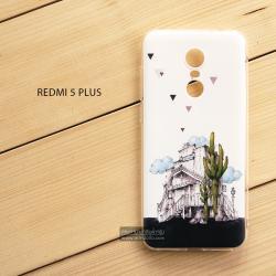 เคส Redmi 5 Plus เคสนิ่ม TPU พิมพ์ลาย แบบที่ 7