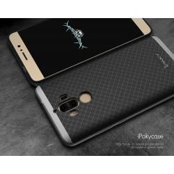 เคส Huawei Mate 9 เคส iPaky Hybrid Bumper เคสนิ่มพร้อมขอบบั๊มเปอร์ สีดำขอบเทา
