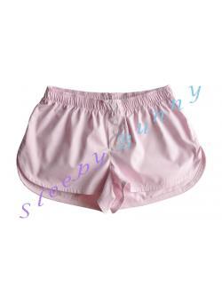 bx56 กางเกง boxer ผู้หญิง สีชมพูอ่อน พร้อมส่ง Size S,M,L --> Pajamazz