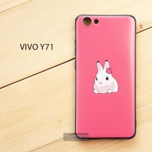 เคส Vivo Y71 เคสนิ่ม TPU พิมพ์ลาย (ขอบดำ) แบบที่ 3