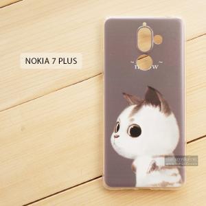 เคส Nokia 7 Plus เคสนิ่ม TPU พิมพ์ลาย แบบที่ 6