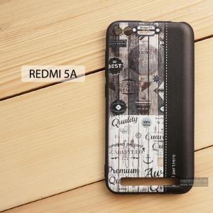 เคส Redmi 5A เคสนิ่ม TPU พิมพ์ลาย (ขอบดำ) แบบที่ 3