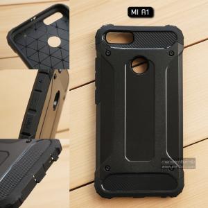 เคส Xiaomi Mi A1 เคสบั๊มเปอร์ (เสริมขอบกันกระแทก) สีดำ Hybrid Protection