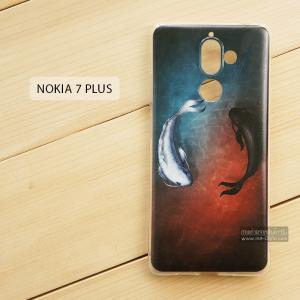 เคส Nokia 7 Plus เคสนิ่ม TPU พิมพ์ลาย แบบที่ 1