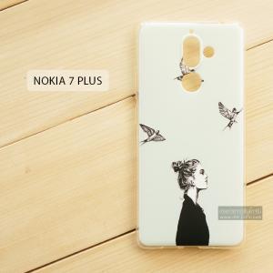 เคส Nokia 7 Plus เคสนิ่ม TPU พิมพ์ลาย แบบที่ 5