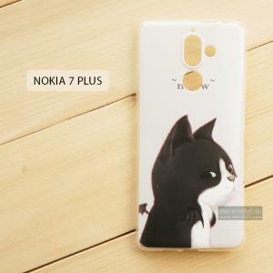 เคส Nokia 7 Plus เคสนิ่ม TPU พิมพ์ลาย แบบที่ 4