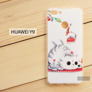 เคส Huawei Y9 (2018) เคสนิ่ม TPU พิมพ์ลาย แบบที่ 7