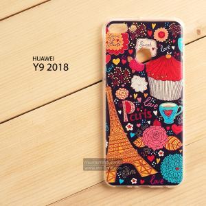 เคส Huawei Y9 (2018) เคสนิ่ม TPU พิมพ์ลาย แบบที่ 37