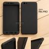 เคส OPPO R9s PRO เคสแข็งแบบ 3 ส่วน ครอบคลุม 360 องศา (สีดำ - ดำ)