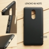 เคส Lenovo K6 Note เคสแข็งสีเรียบ คลุมขอบ 4 ด้าน สีดำ