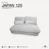 โซฟาเบด รุ่น JAPAN120 (มี 2 ขนาด) Sofa Bed ปรับนอนได้ ขนาดมาตรฐาน 120x240x65 cm
