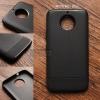 เคส MOTO G5s Plus เคสนิ่ม TPU ลายเคฟล่า (ลดรอยนิ้วมือบนเคส) สีดำ