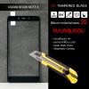 (มีกรอบ 3D แบบคลุมขอบ) กระจกนิรภัย-กันรอยแบบพิเศษ ขอบมน 2.5D ( Xiaomi Redmi Note 4 ) ความทนทานระดับ 9H สีดำ