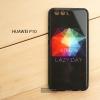 เคส Huawei P10 เคสขอบยางดำ + กระจกกันรอยครอบทับหลังเคส เกรดพรีเมี่ยม พิมพ์ลาย แบบที่ 2