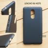 เคส Lenovo K6 Note เคสแข็งสีเรียบ คลุมขอบ 4 ด้าน สีกรมท่า