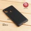 เคส Xiaomi Redmi Note 5 เคสแข็งสีเรียบ (รูระบายอากาศที่เคส) สีดำ