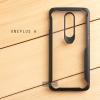 เคส OnePlus 6 เคสฝาหลังอะคริลิคใส ขอบยางกันกระแทก แบบที่ 2 (ขอบนูนรอบกล้อง) สีดำ