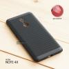 เคส Xiaomi Redmi Note 4X เคสแข็งสีเรียบ (รูระบายอากาศที่เคส) สีดำ