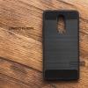 เคส Lenovo K6 Note เคสนิ่มกันกระแทก เกรด Premium (Texture ลายโลหะขัด) ลดรอยนิ้วมือ สีดำ