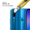 (ราคาแลกซื้อ เฉพาะลูกค้าที่สั่งเคสหรือฟิล์มกระจกหน้าจอ ภายในออเดอร์เดียวกัน) กระจกนิรภัยกันเลนส์กล้อง Huawei Nova 3E