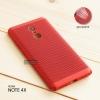 เคส Xiaomi Redmi Note 4X เคสแข็งสีเรียบ (รูระบายอากาศที่เคส) สีแดง
