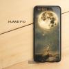 เคส Huawei P10 เคสขอบยางดำ + กระจกกันรอยครอบทับหลังเคส เกรดพรีเมี่ยม พิมพ์ลาย แบบที่ 1