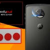 (ราคาแลกซื้อ เฉพาะลูกค้าที่สั่งเคสหรือฟิล์มกระจกหน้าจอ ภายในออเดอร์เดียวกัน) กระจกนิรภัยกันเลนส์กล้อง MOTO Z2 Play