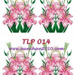 TLP014 กระดาษแนพกิ้น 21x30ซม. ลายทิวลิป