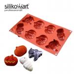 Silikomart พิมพ์ ซิลิโคน SF 116 HALLOWEEN