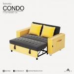 โซฟาเบด รุ่นขายดีสุด CONDO (มี 5 ขนาด) Sofa Bed ปรับนอนได้