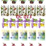 OC013 กระดาษแนพกิ้น 21x30ซม. ลายกล้วยไม้