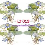 LT019 กระดาษแนพกิ้น 21x30ซม. ลายดอกบัว