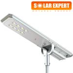 ASL07 โคมไฟถนนโซล่าเซลล์อัจฉริยะ Hi-Spec รุ่น ความสว่าง 7,000 Lumens