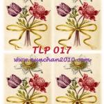 TLP017 กระดาษแนพกิ้น 21x30ซม. ลายทิวลิป