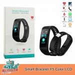 Smart Bracelet Y5 Color LCD - นาฬิกาจอสีอัจฉริยะ ระบบเต็ม นับก้าว,แจ้งแคลลอรี่,ระยะทาง,อัตราการเต้นหัวใจ,ความดันโลหิต