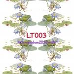 LT003 กระดาษแนพกิ้น 21x30ซม. ลายดอกบัว