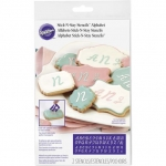 Wilton STICK-N-STAY MONOGRAM STENCILS (417-7552 )