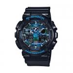 นาฬิกา คาสิโอ้ Casio G-Shock Limited Model Blue Camouflage Face รุ่น GA-100CB-1A