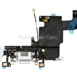 แพร USB + Mic สีขาว ไอโฟน 6s