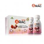 Super4Rac น้ำผลไม้สกัด ตราซุปเปอร์ โฟร์แรค ขวดเล็ก 60 ML. 12ขวด/แพ็ค (12 Bt./Pack)