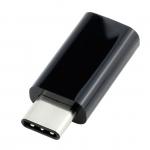 ตัวแปลง USB 3.1 Type-C Male to Micro USB Female Converter USB-C Adapter(Black)