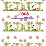 LT008 กระดาษแนพกิ้น 21x30ซม. ลายดอกบัว