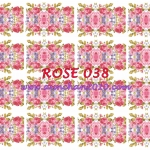 ROSE038 กระดาษแนพกิ้น 21x30ซม. ลายกุหลาบ