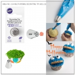 Wilton No.233 Decorating Tip, Multi-Opening (GRASS ICING TIP -402-233 )
