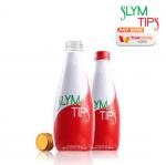 Slym Tips สลิมทิพย์ เครื่องดื่มผลไม้สมุนไพรสกัดเข้มข้น ลดน้ำหนัก สารอาหารครบ 300Ml. (15 ขวด / กล่อง)