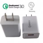 Quick Charge 3.0 USB Turbo Wall Charger Fast Charger หัวปลั๊กชาร์ทไฟ QC 3.0 ชาร์จไฟเร็วกว่าที่ชาร์จไฟทั่วไปถึง 4 เท่า