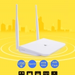 Melon Router Wifi Repeater 300Mbps 2.4GHz Wireless Routers Repeater support external wifi usb adapter With Chipset RT3070/3072 and Realtek 8188RU