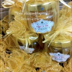 น้ำผึ้ง 1 ออนซ์ แพคถุงผ้าติดแทคที่ขวด