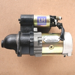 ไดสตาร์ท เครื่องสูบน้ำ รถไถจีน 2รู 11T 12V (ใหม่)
