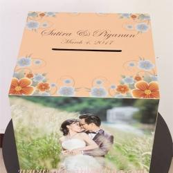 กล่องใส่ซองรูปภาพ แบบ A ขนาด 15x15 นิ้ว